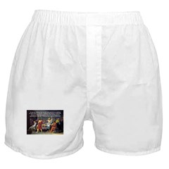 Truth and Wisdom: Socrates Boxer Shorts