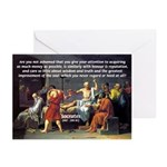Truth and Wisdom: Socrates Greeting Cards (Package