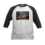 Truth and Wisdom: Socrates Kids Baseball Jersey