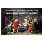 Truth and Wisdom: Socrates Large Poster