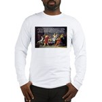 Truth and Wisdom: Socrates Long Sleeve T-Shirt