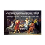 Truth and Wisdom: Socrates Mini Poster Print