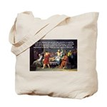 Truth and Wisdom: Socrates Tote Bag
