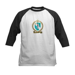 HENAUD Family Crest Kids Baseball Jersey