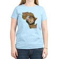 Giraffe Soccer Ball T-Shirt