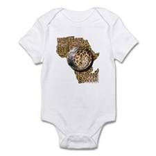 Giraffe Soccer Ball Infant Bodysuit