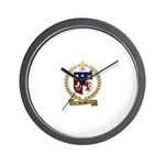 HERAUT Family Crest Wall Clock