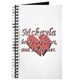 Mckayla broke my heart and I hate her Journal