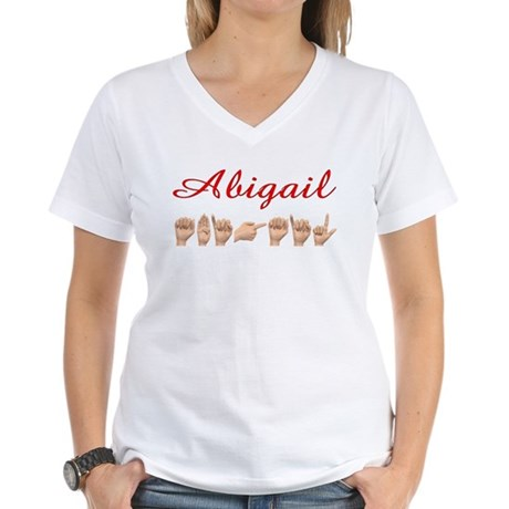 Abigail Women's V-Neck T-Shirt