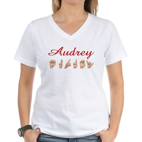 Audrey Women's V-Neck T-Shirt