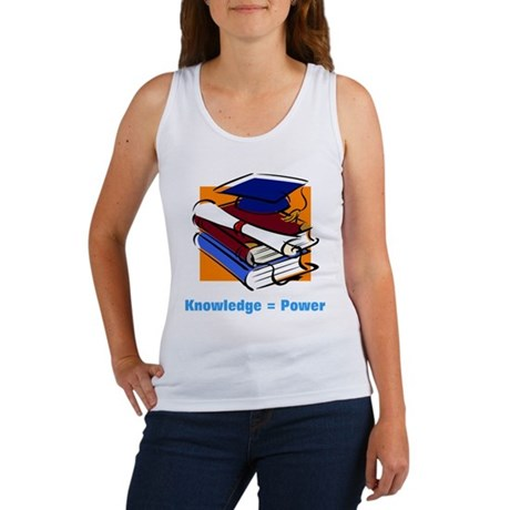 Knowledge is Power Women's Tank Top