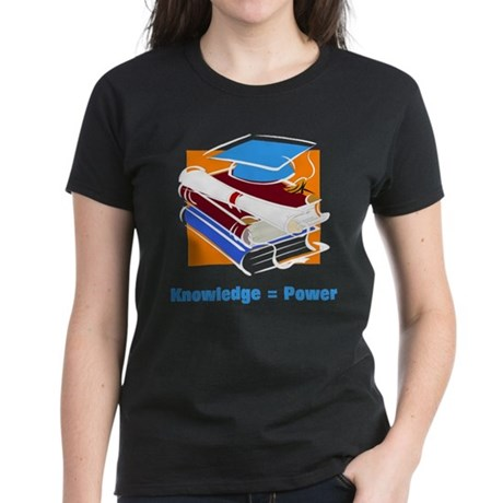 Knowledge is Power Women's Dark T-Shirt