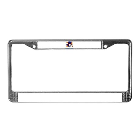 Knowledge is Power License Plate Frame