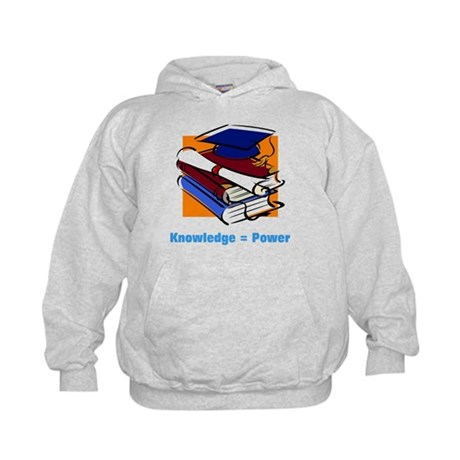 Knowledge is Power Kids Hoodie