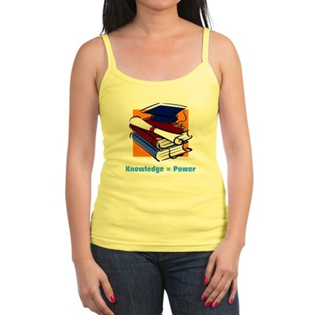 Knowledge is Power Jr. Spaghetti Tank