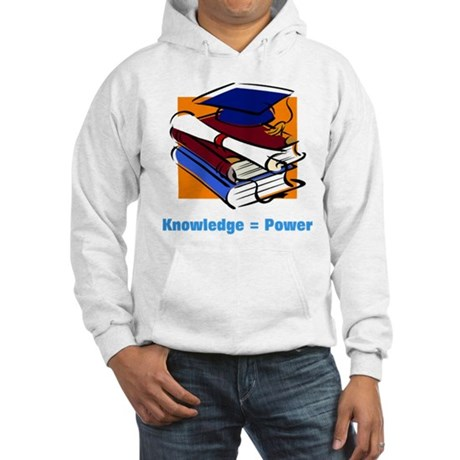Knowledge is Power Hooded Sweatshirt