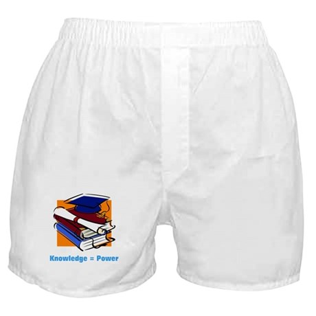 Knowledge is Power Boxer Shorts