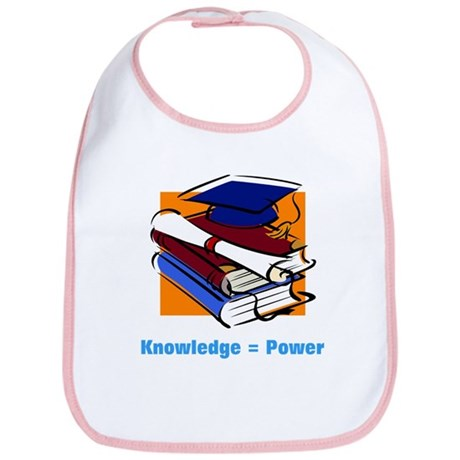 Knowledge is Power Bib