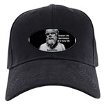 Socrates: Wisdom from Leisure Black Cap