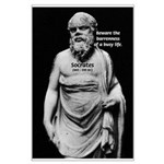 Socrates: Wisdom from Leisure Large Poster
