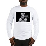 Socrates: Wisdom from Leisure Long Sleeve T-Shirt