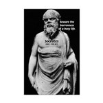 Socrates: Wisdom from Leisure Mini Poster Print