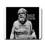 Socrates: Wisdom from Leisure Mousepad