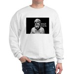 Socrates: Wisdom from Leisure Sweatshirt