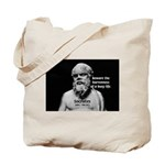 Socrates: Wisdom from Leisure Tote Bag