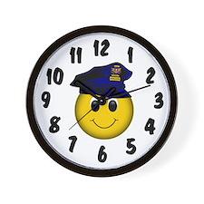 Top Cop Wall Clock