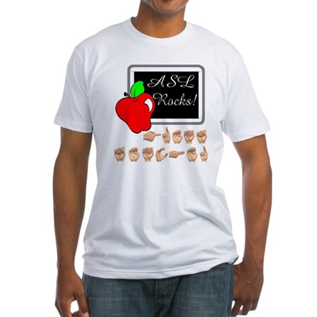 Great Teacher Male Fitted T-Shirt