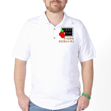 Great Teacher Male Golf Shirt