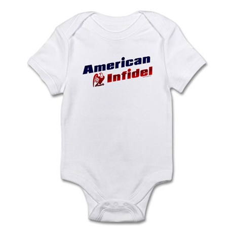 American Infidel (eagle) Infant Creeper