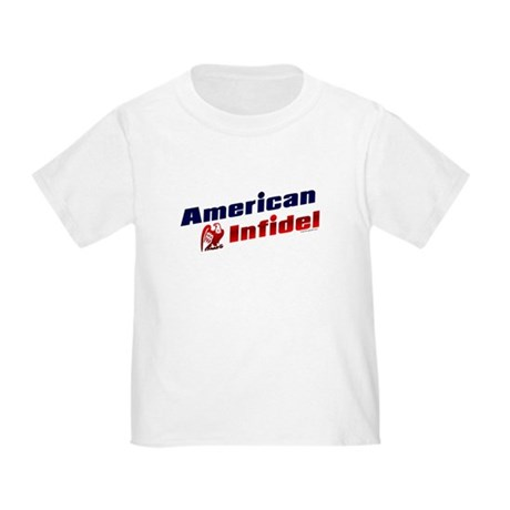 American Infidel (eagle) Toddler T-Shirt