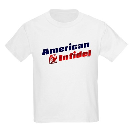 American Infidel (eagle) Kids T-Shirt