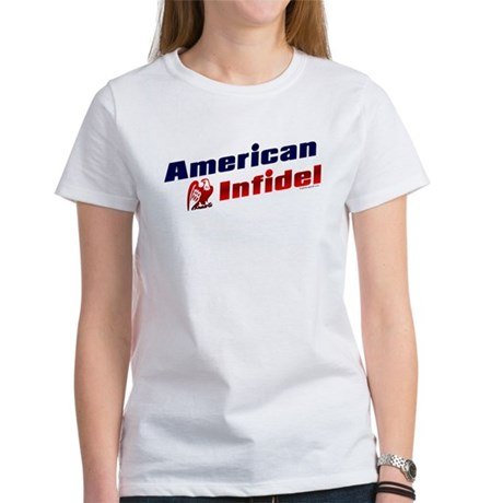American Infidel (eagle) Women's T-Shirt