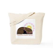 Welcome Back Jesus Tote Bag