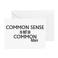 Common Sense Not So Common Greeting Cards (Pk of 1