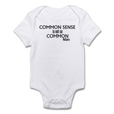 Common Sense Not So Common Infant Bodysuit
