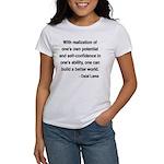 Dalai Lama 19 Women's T-Shirt