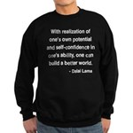 Dalai Lama 19 Sweatshirt (dark)