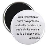 """Dalai Lama 19 2.25"""" Magnet (10 pack)"""