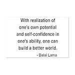 Dalai Lama 19 Mini Poster Print
