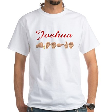 Joshua White T-Shirt