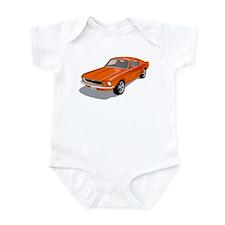 1968 Ford Mustang Fastback Infant Bodysuit