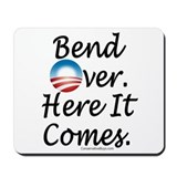 Anti-Obama Bend Over Mousepad