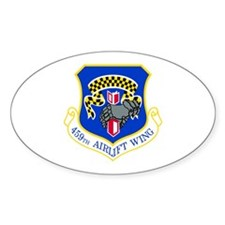 459th Oval Decal