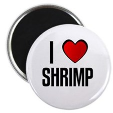"I LOVE SHRIMP 2.25"" Magnet (100 pack)"