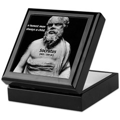 Wisdom of Socrates Keepsake Box