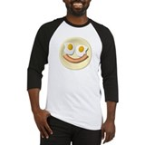 Eggs And Bacon Smiley Baseball Jersey
